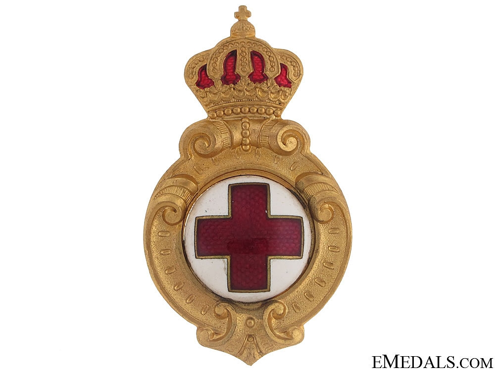 A Red Cross Badge
