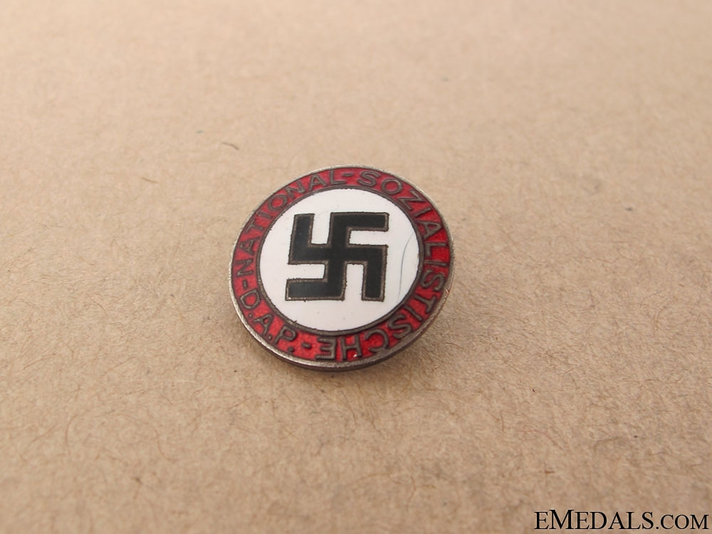 An Early NSDAP Membership Badge