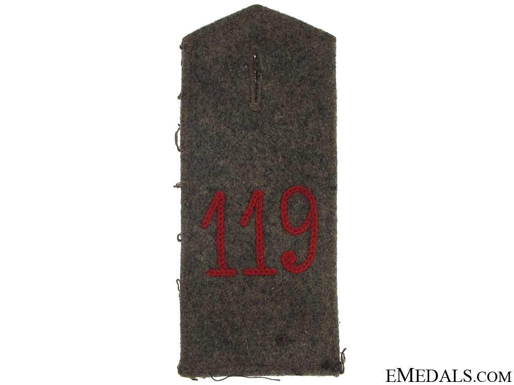 119th Infantry Regiment Shoulder Strap