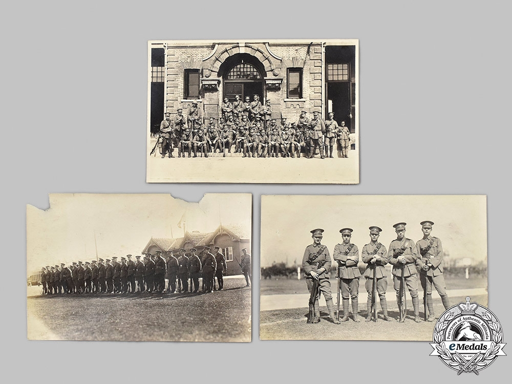 """China, Republic. A Superb Shanghai Volunteer Collection to Lance Corporal J. Rogalsky of """"C"""" Machine Gun Company"""