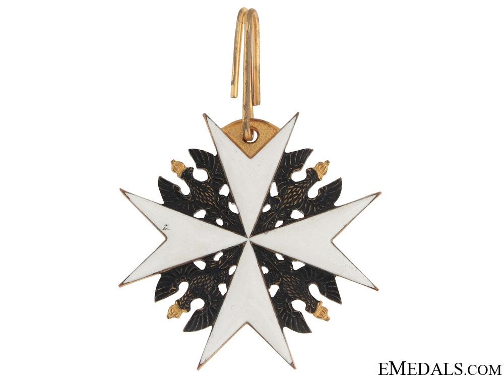 Johanniter Order- Ehrenritter Neck Cross