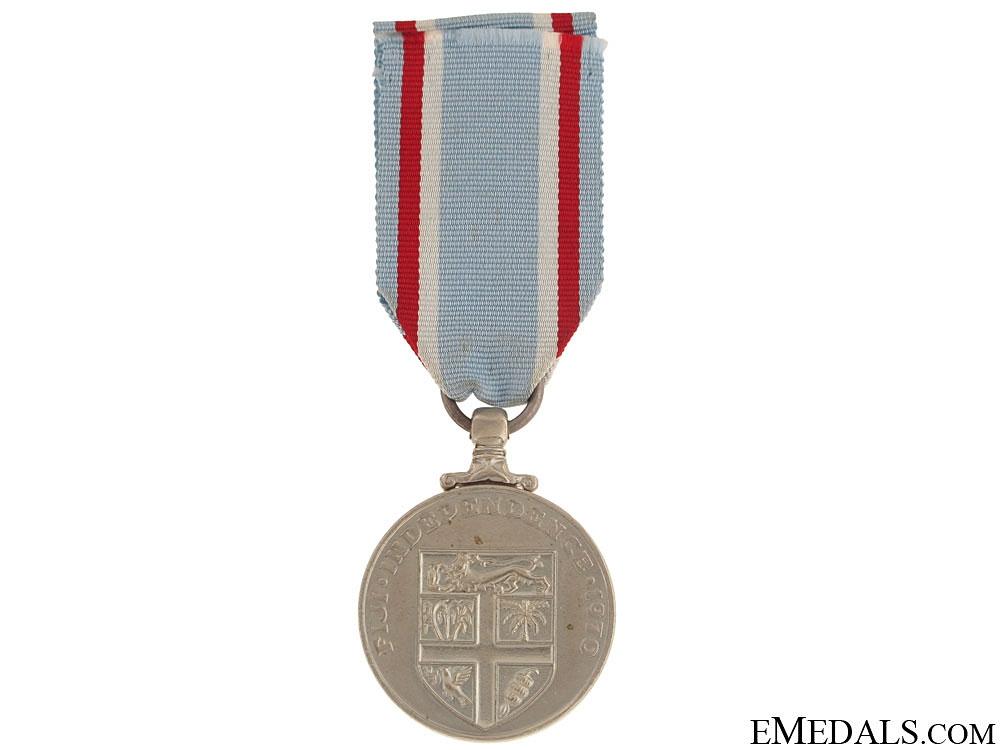 Fiji Independence Medal 1970