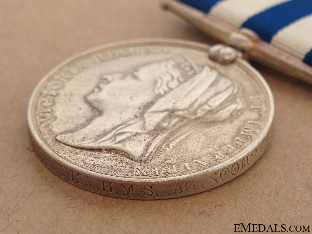 Egypt Medal 1882-1889 - Royal Navy