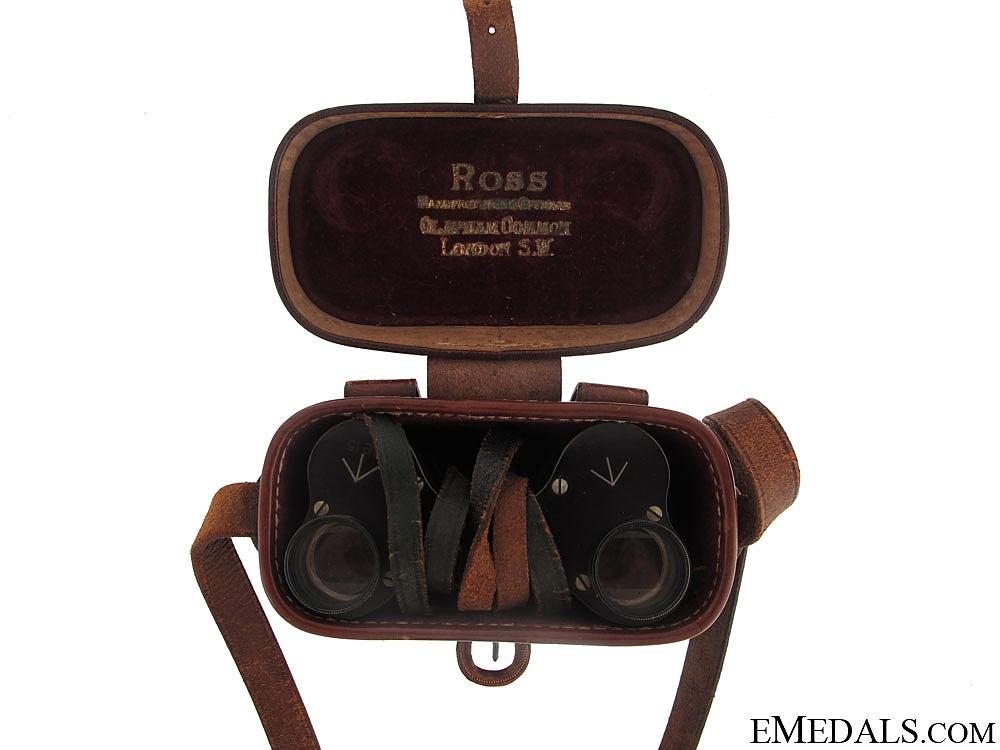 A Fine Set of Ross WWI Field Binoculars