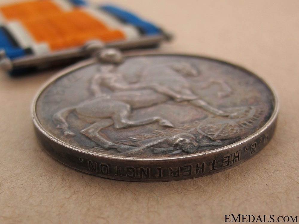 WWI British War Medal - CAMC