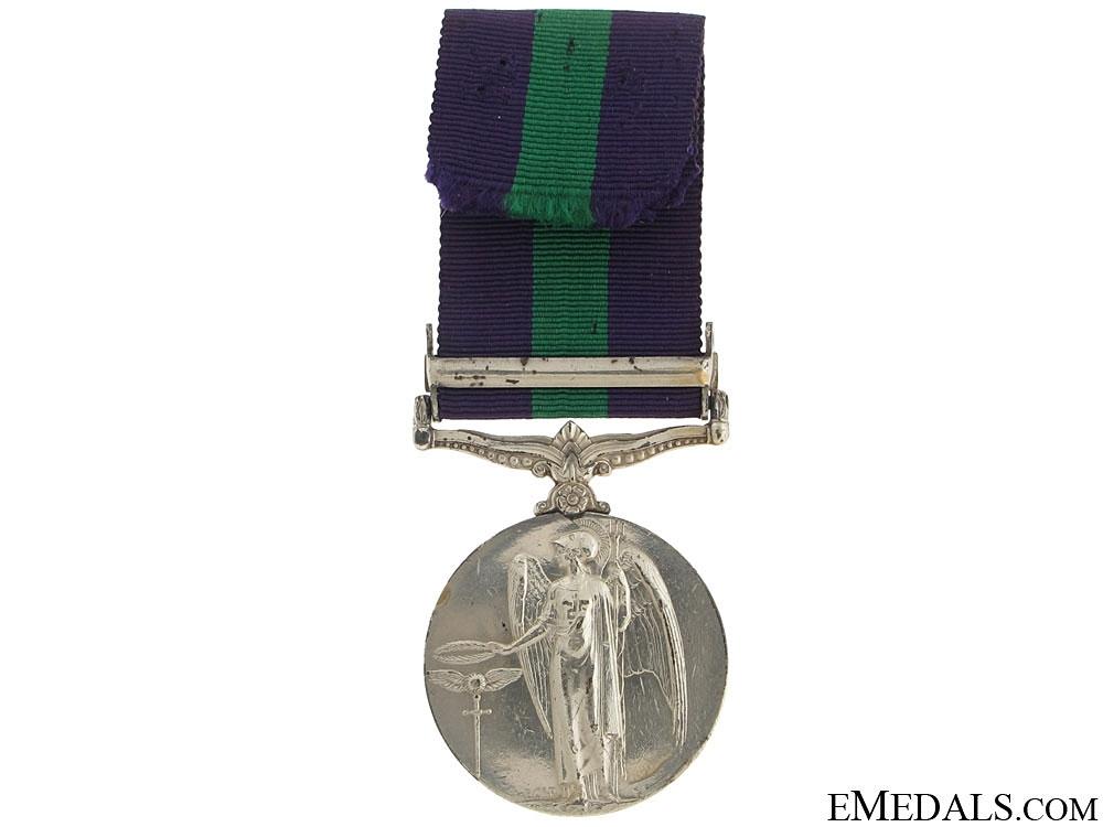 General Service Medal 1918-62 - Iraq