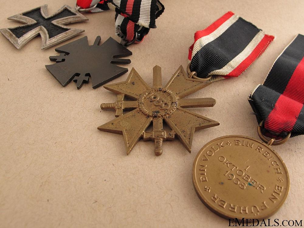 Four Third Reich Awards