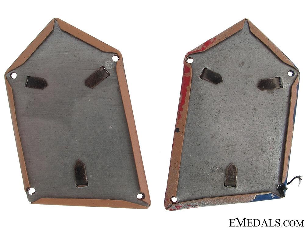 PTS (Pavelic's Body Guard) Collar Tabs