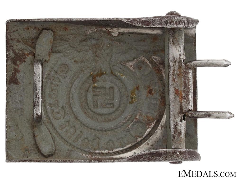 Waffen SS EM/NCO's Steel Belt Buckle