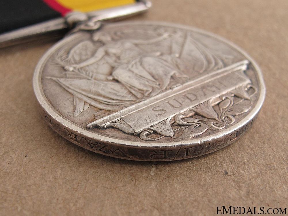Queen's Sudan Medal 1896- Warwickshire Regiment