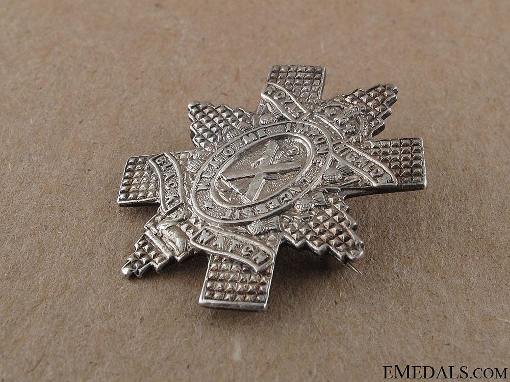 WWI Black Watch Sweetheart Pin
