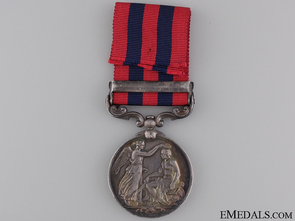 India General Service Medal to the 6th Punjab Infantry