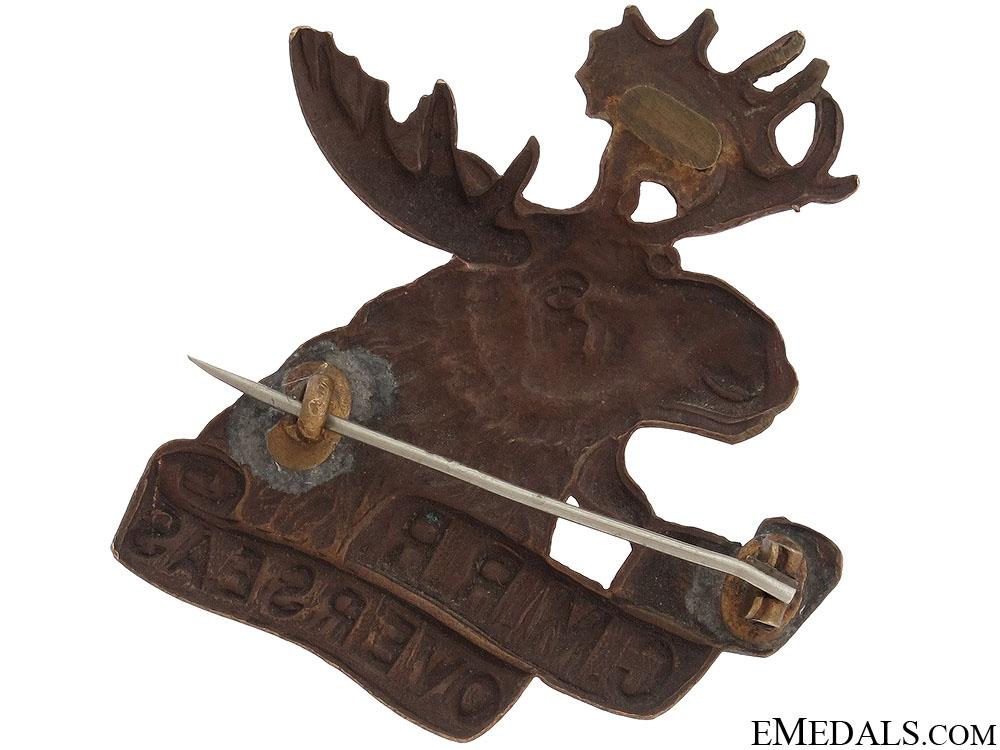 WWI 4th Mounted Rifle Battalion Cap Badge