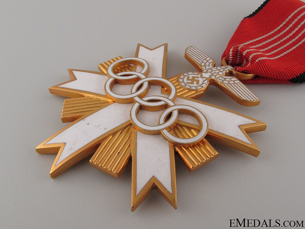 German Olympic Merit Cross - 2nd Class