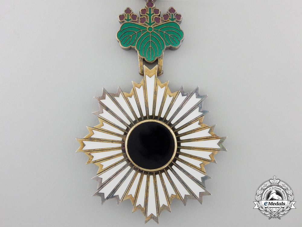 A Japanese Order of the Rising Sun; 6th Class