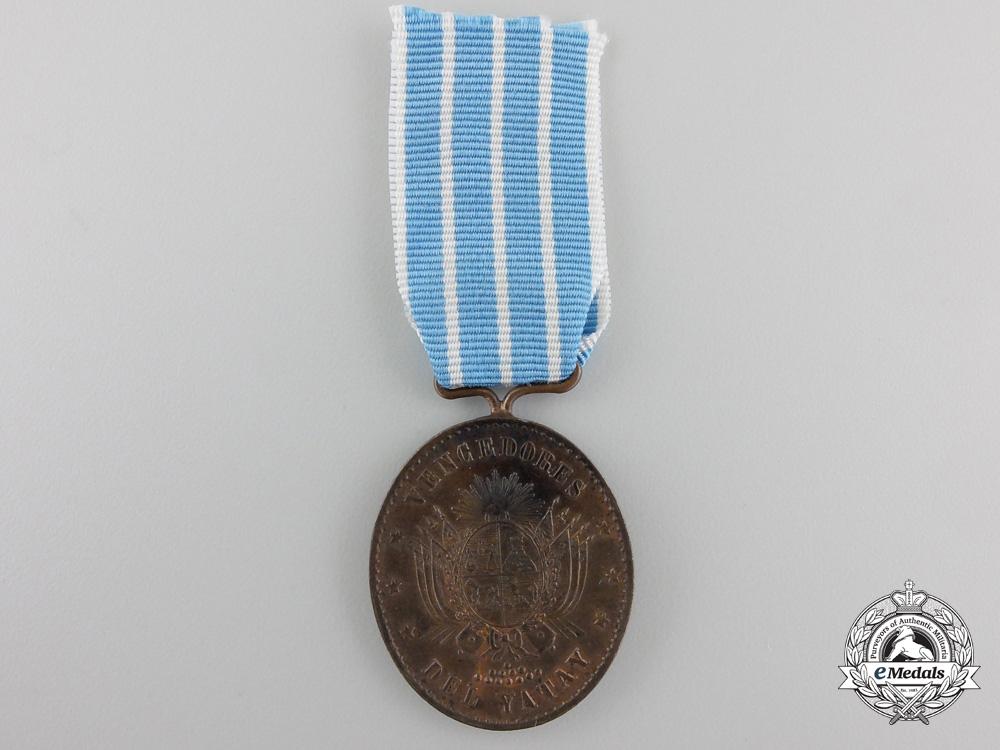 An 1865 Yatay Medal by JW