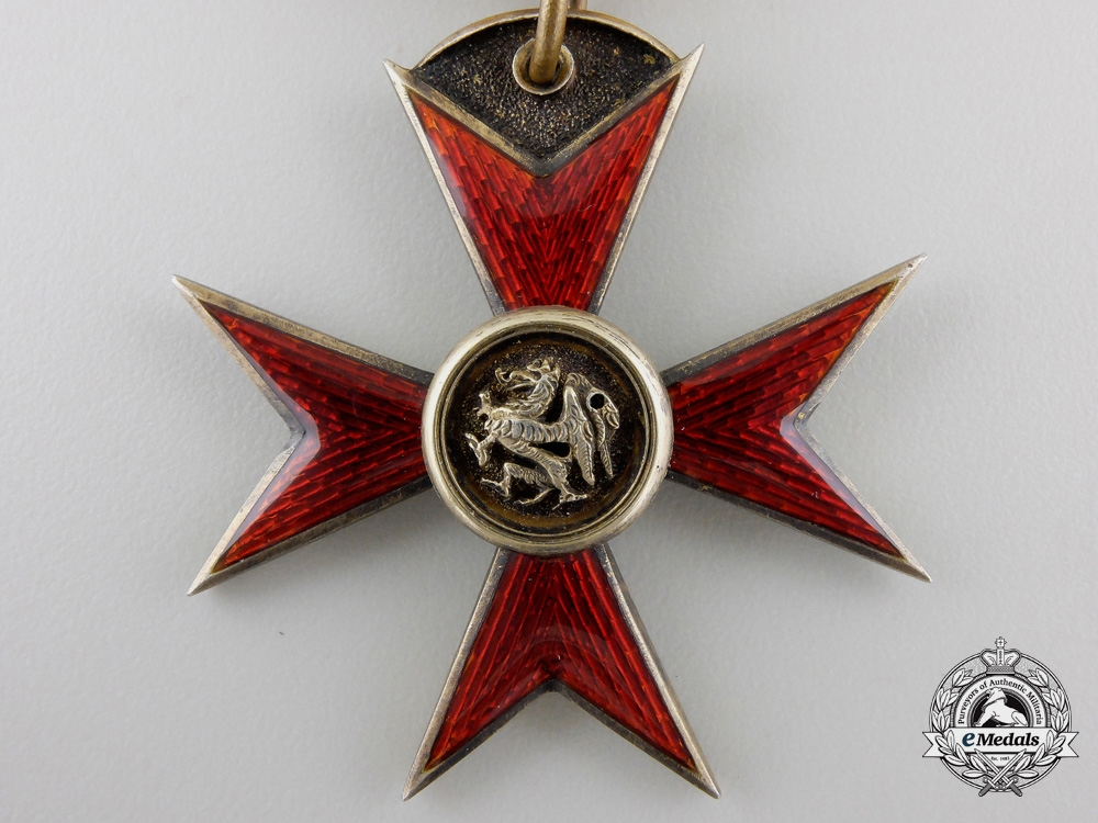 A Meckenburg-Schwerin Order of the Griffin; Knight's Cross
