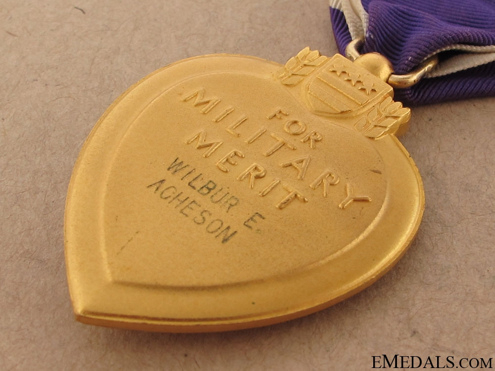 Second War Purple Heart - Named