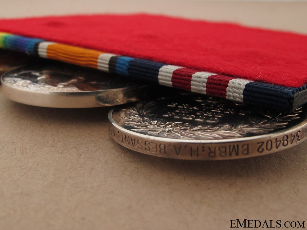 A Military Medal for Action at Vimy Ridge