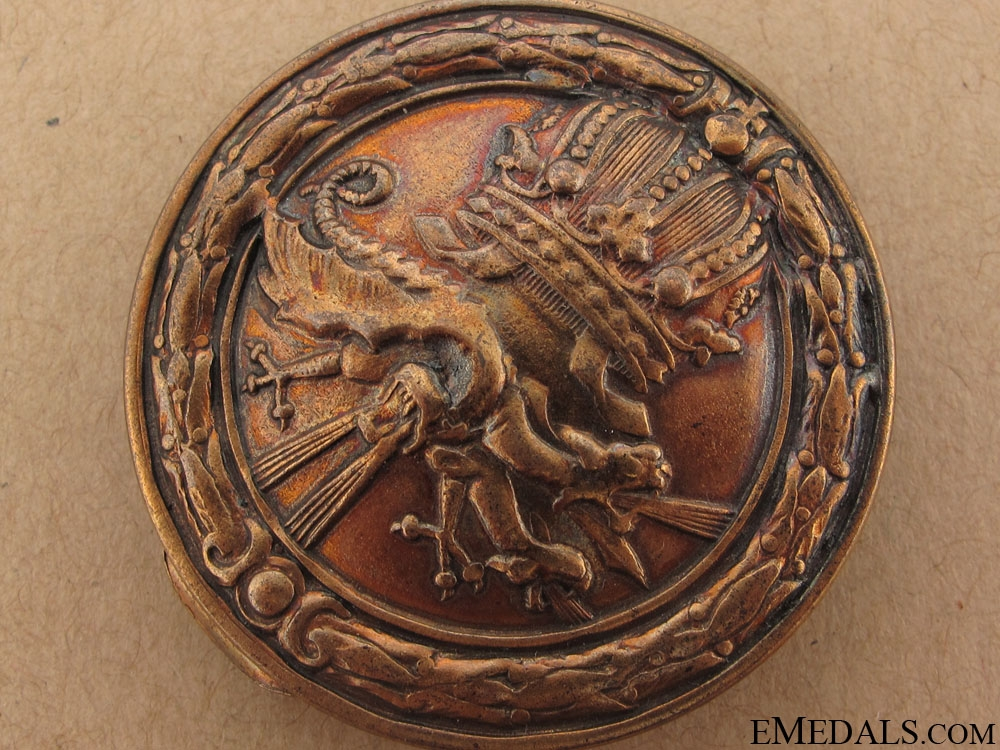 Heavy Machine Gunner's Badge 1908