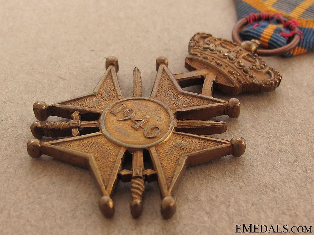 War Cross 1940