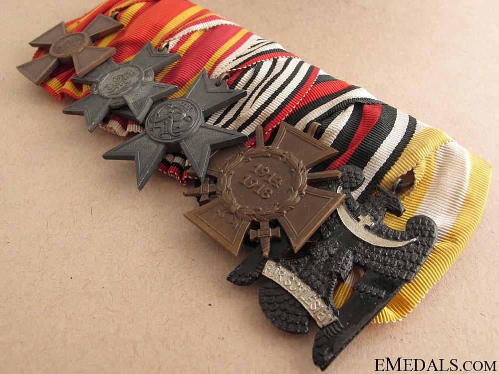 A Baden Army Service Medal Bar