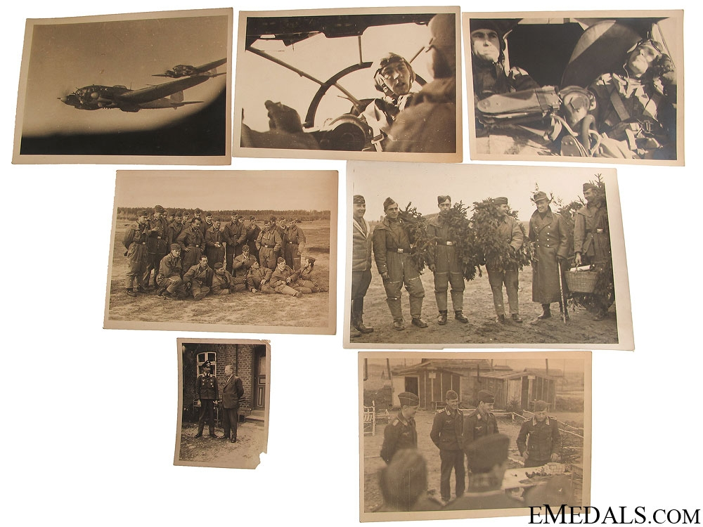 12 Luftwaffe Photos of a Bomber Crew