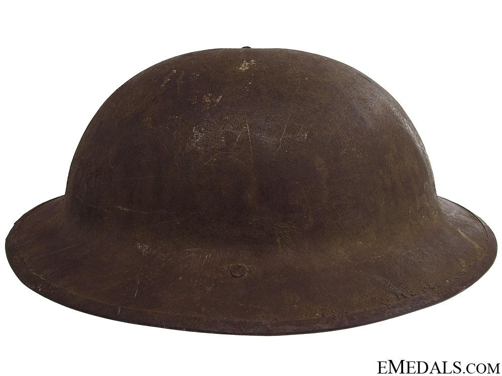 WWI Canadian Brodie Helmet