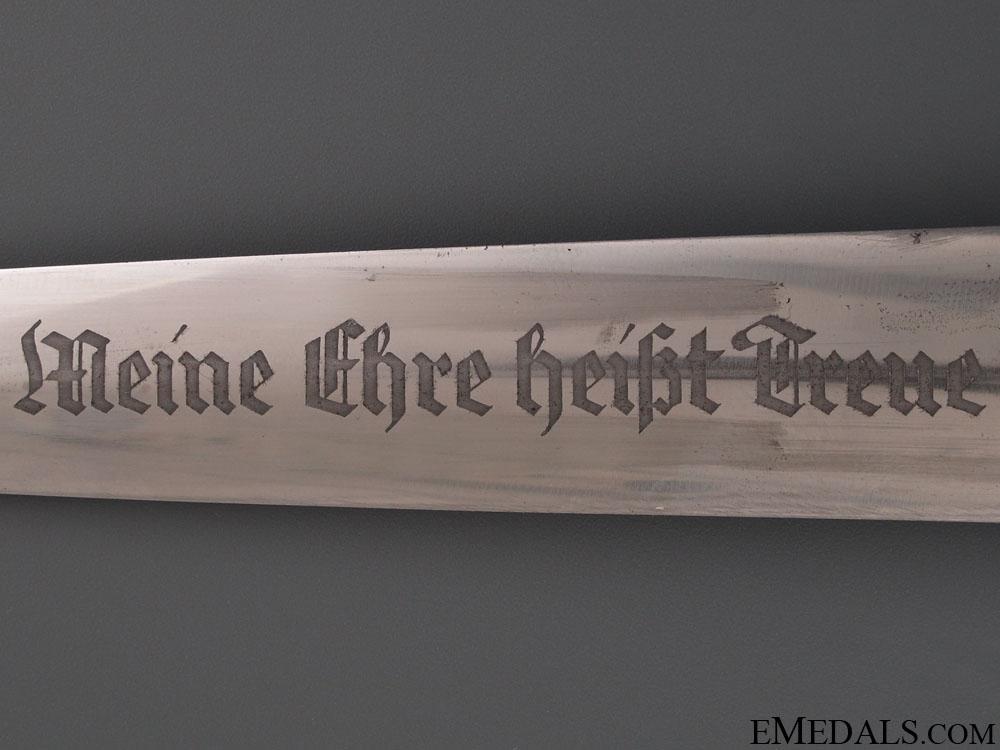A Rare 1933 SS Himmler Dagger by Carl Eickhorn