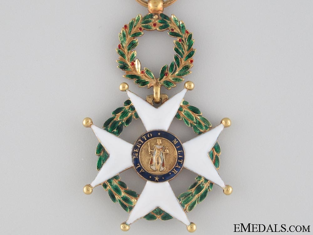 Spanish Order of Military Merit in Gold