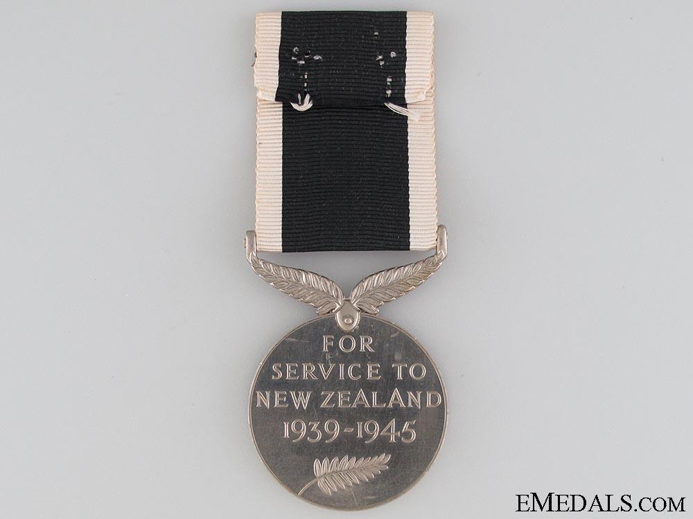 New Zealand War Service Medal 1939-1945