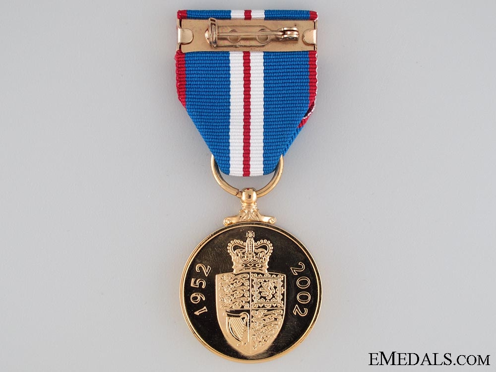 Queen Elizabeth II's Golden Jubilee Medal 2002