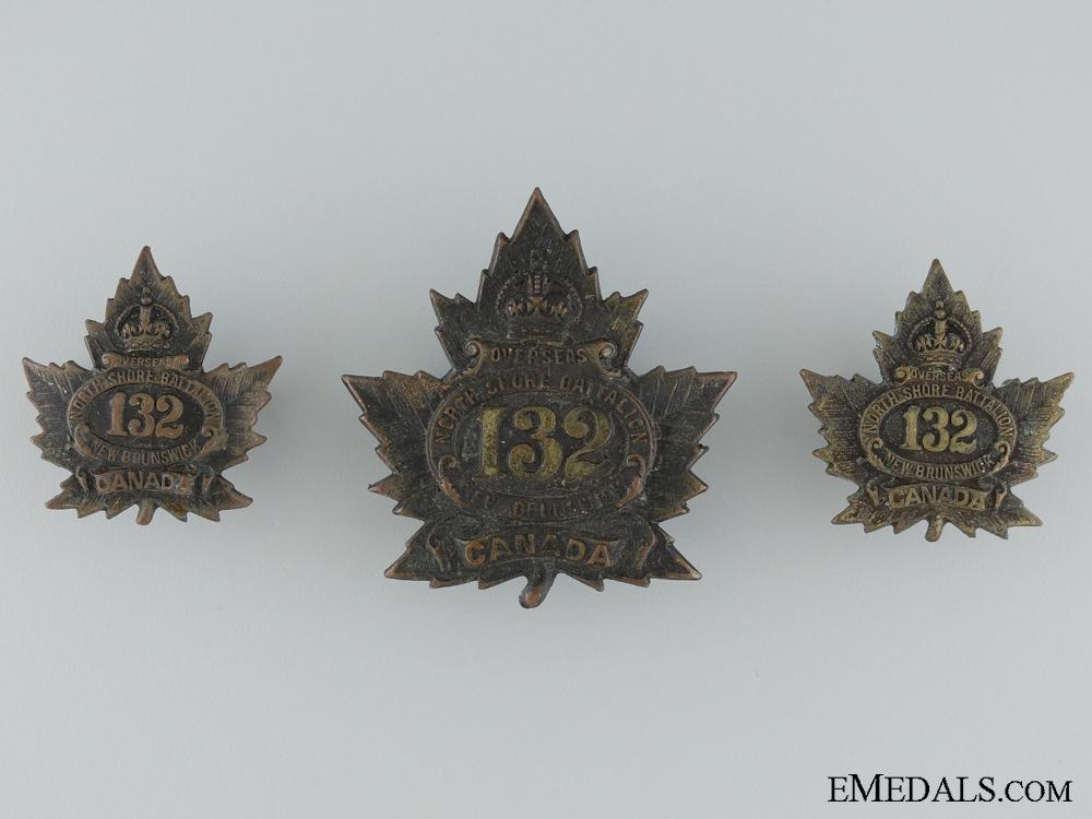 132nd Battalion (North Shore, New Brunswick) Insignia