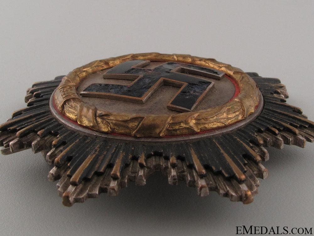 A German Cross in Gold by C.E. Juncker