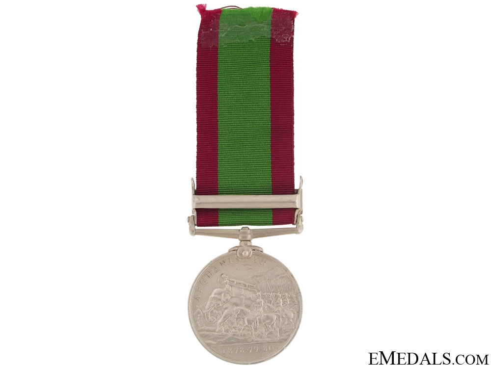 Afghanistan Medal - 4th Goorkha Regiment (Gorkha Rifles)