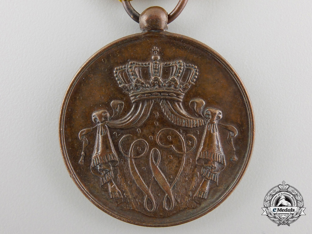 A Royal Dutch Navy Long & Honorable Service Medal