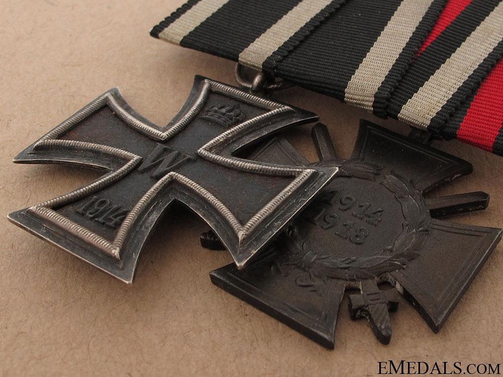 WWI Veteran's Pair