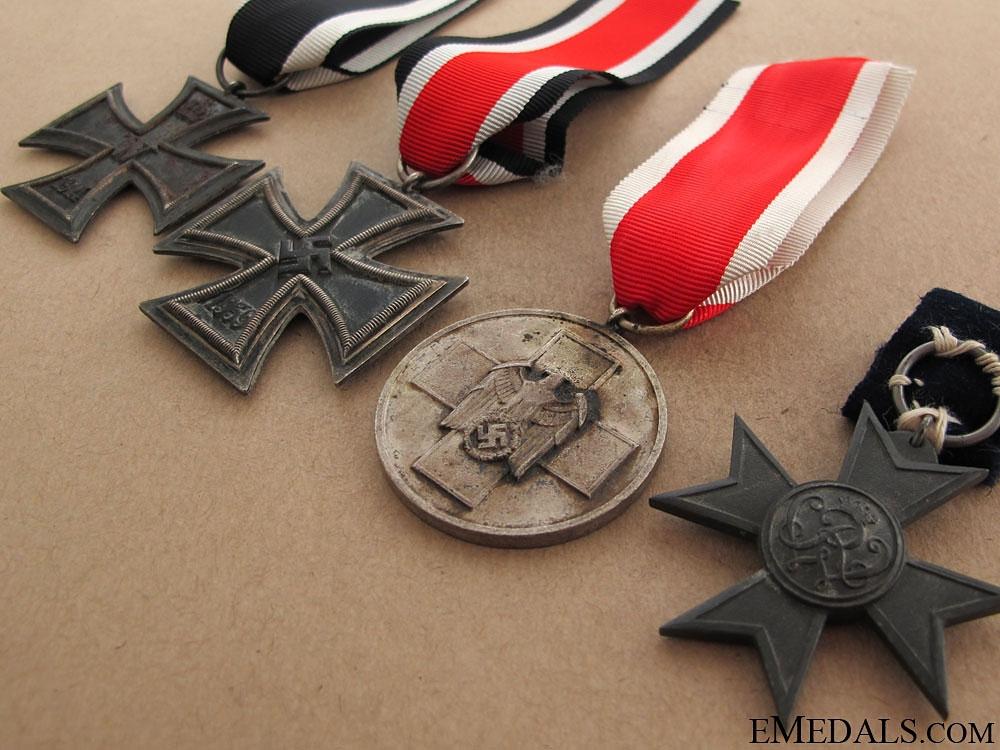 Four German WWII Awards