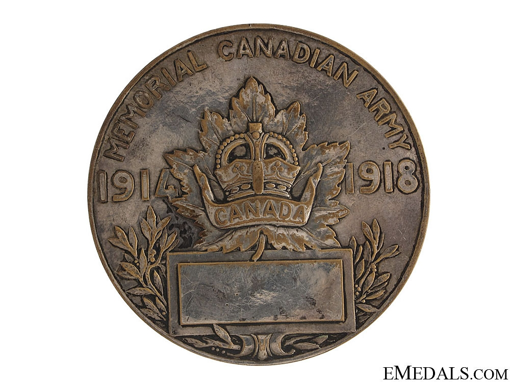WWI Capture of Vimy Ridge Medal