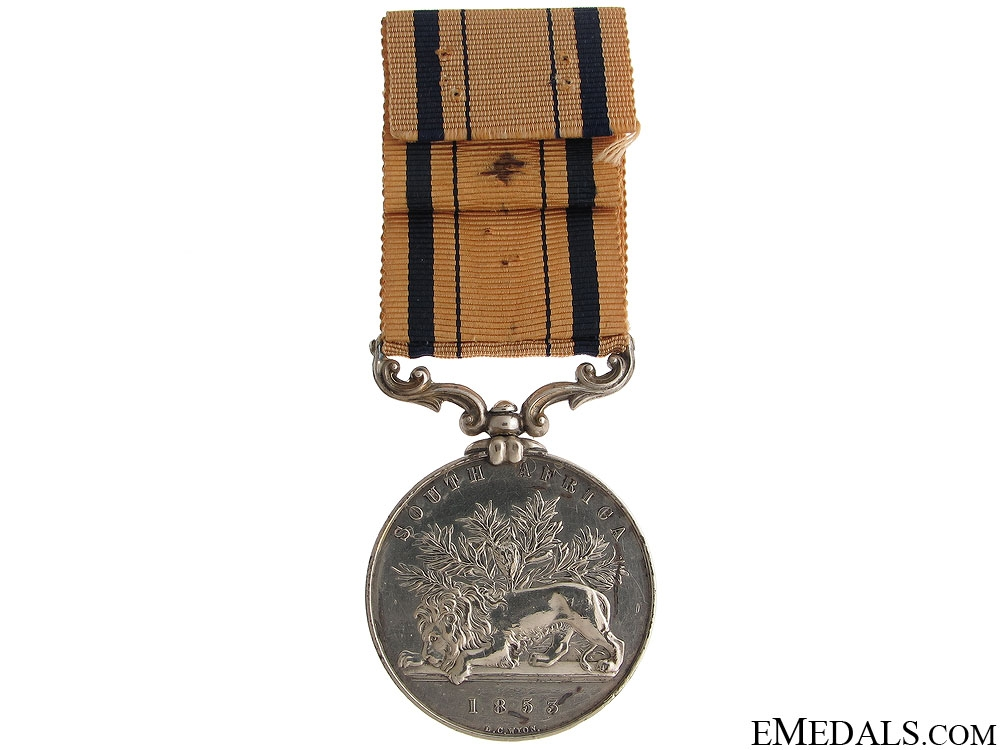 South Africa Medal 1834 - 12th Regiment