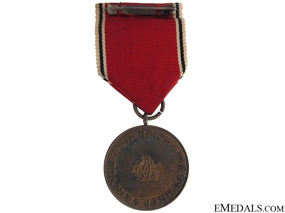 Commemorative Medal 13.3.1938