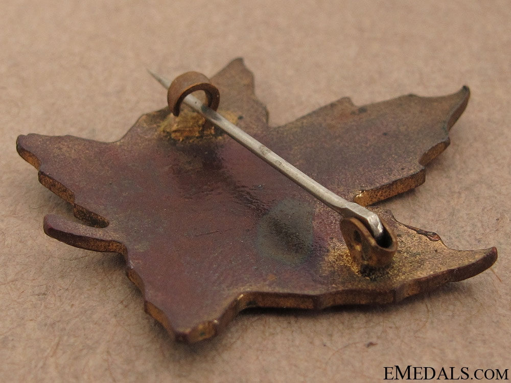 WWI Niagara Camp Sweetheart Pin