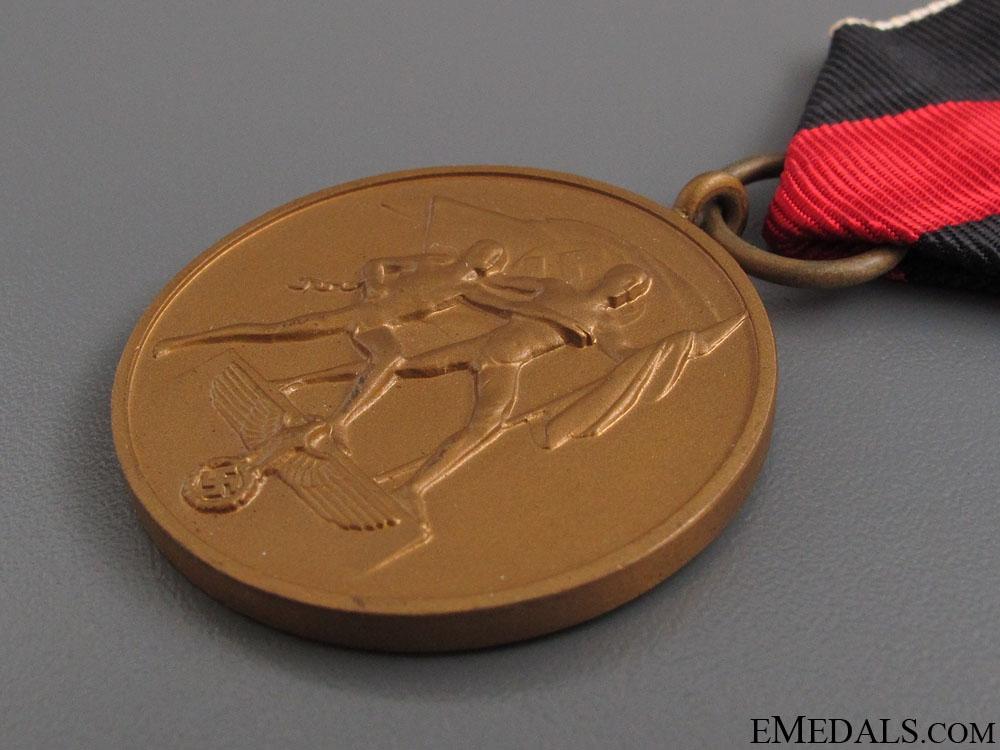 Commemorative Medal 1. October 1938
