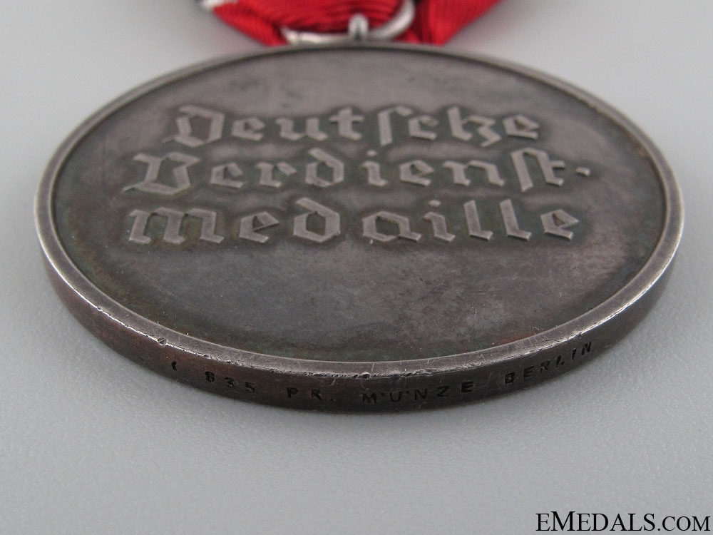 Merit Medal of the German Eagle Order