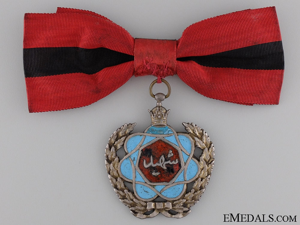 An Iranian (Pahlavi Empire); Propaganda Medal