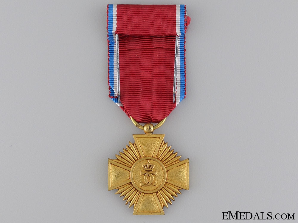 An Order of Merit of the Grand Duchy of Luxembourg; Gold Grade Medal