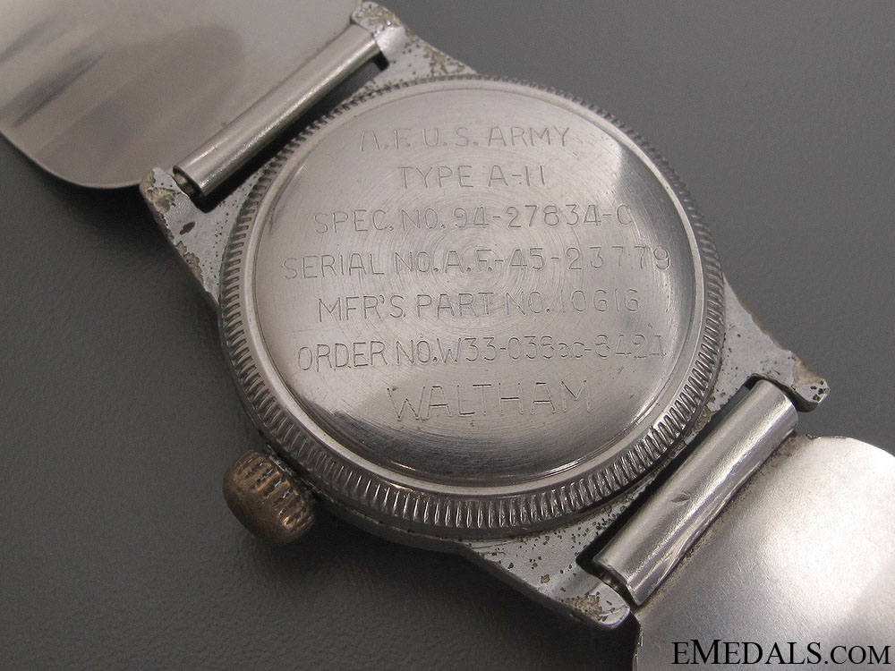 WWII Waltham Army Air Force Pilot's Watch