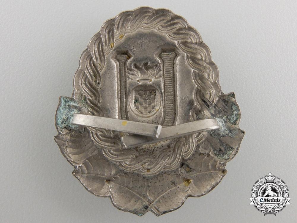 A Second War Ustasha Cap Badge