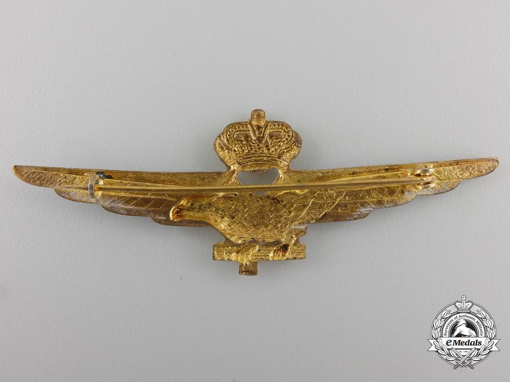 A Second War Italian Pilot's Badge
