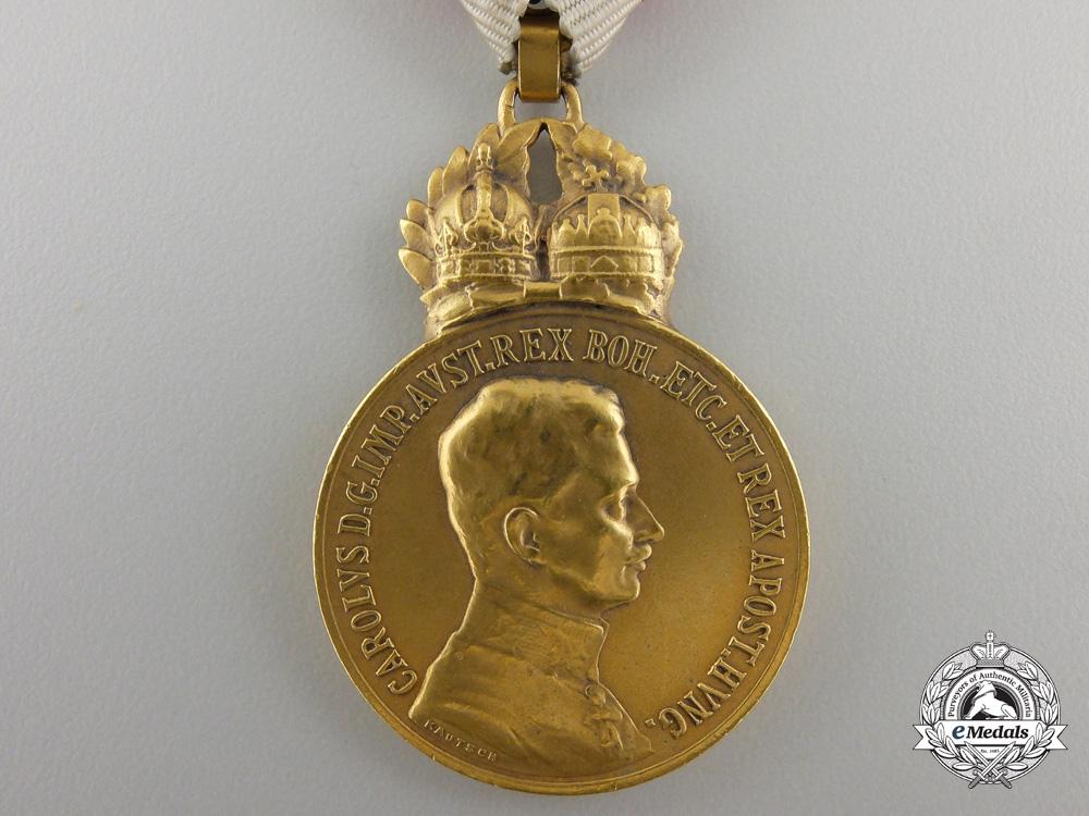 An AustrianMilitary Merit Medal, Karl I (1917-1918)